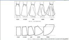 skirt - Saias - Modelos e Modelagens