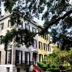 Historic Savannah, GA homes…