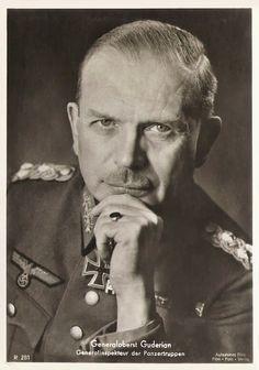 ■ GO Heinz Guderian (1888-1954) - Generalinspekteur der Panzertruppen: