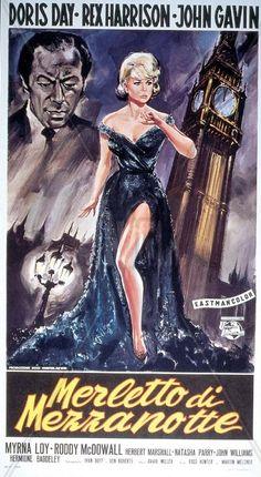 Merletto di mezzanotte (Midnight Lace) è un film del 1960 diretto da David Miller con Doris Day, Rex Harrison, John Gavin, Myrna Loy