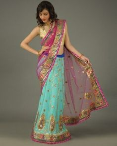 would be a beautiful lengha, also by piri
