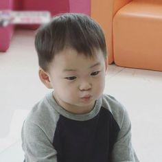 Minguk's cute pout