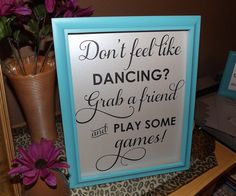 Bathroom Sign Game wedding bathroom sign - you look oh so pretty.. now get out and