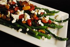 Balsamic Tomato Asparagus Recipe – 3 Points + - LaaLoosh