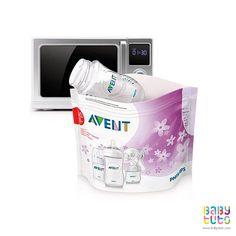 Bolsas esterilizadoras para microondas Marca: Avent http://www.babytuto.com/productos/lactancia-esterilizador,bolsas-esterilizadoras-para-microondas-5-unidades,4803