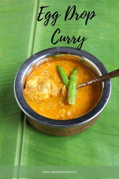 Egg drop curry with coconut milk is a delicious curry made by cracking and dropping eggs in a spicy onion and coconut-based curry. Goan Recipes, Curry Recipes, Indian Food Recipes, Spicy Recipes, Steak Recipes, Healthy Recipes, Delicious Dinner Recipes, Lunch Recipes, Egg Recipes