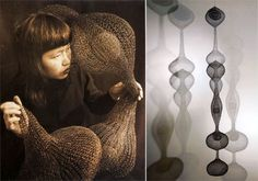 Ruth Asawa MilkWeed: Inspiratu in interior design art Category Ruth Asawa, Organic Art, Artistic Installation, Dream Art, Wire Art, Sculpture Art, Wire Sculptures, Art Google, Garden Art