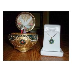 My Anastasia Music Box and Key ❤ liked on Polyvore featuring accessories