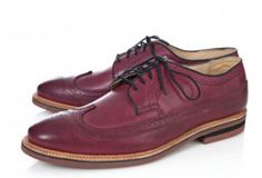 The Scoop on a Great Brogue: Scoop X Walk-Over Shoes Leather Brogue Lace-Up by Dynelle Skinner & David White : Lucky Community