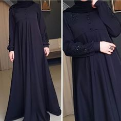 Image may contain: people standing Niqab Fashion, Boho Fashion, Fashion Dresses, Islamic Fashion, Muslim Fashion, Asian Wedding Dress Pakistani, Wedding Abaya, Hijab Style Dress, Abaya Style