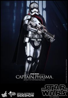Star Wars Hot Toys Capatin Phasma 1/6 scake figure