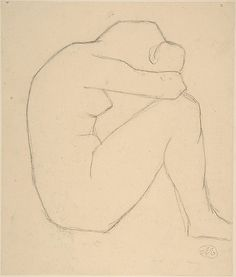 "Study for ""Night"" Aristide Maillol."