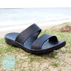 6c02d4155 Black Jane Jandals ® -- Pali Hawaii Hawaiian Jesus Sandals