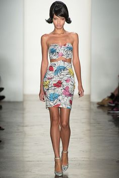 Jeremy Scott Spring 2014 Ready-to-Wear Collection Slideshow on Style.com #style #donneVincenti