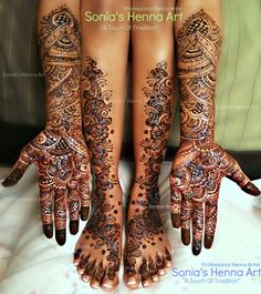 Copyright © Sonia's Henna Art - Bridal Mehndi done in Ottawa    Bridal Henna Inspired by Ravie Kattaura's Designs, mehndi service in toronto, Scarborough, destination wedding, henna artist,henna tattoo, bridal mehndi, south asian mehndi, Indian Traditional Henna, Bridal henna, Mehindi, Mahndi, Heena, mehndi artist, glitter, Free henna,Pakistani style mehndi, arabic mehndi, cheap henna in toronto, low price of henna, mehandi, design, new, art, Indian weddings, traditional, full hand, leg…