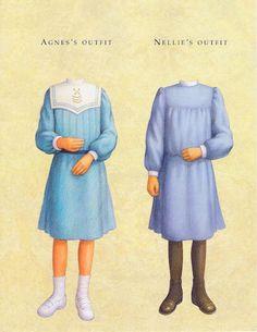 American Girl Samantha Paper Dolls.This From Freebird583 - MaryAnn - Picasa Web Albums