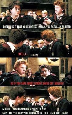 I think this is hilarious. Drarry