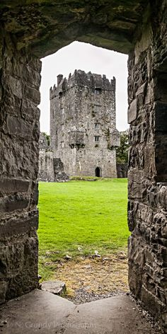 Aughnanure Castle, Oughterard, Co. Galway, Ireland. 16th C