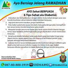 #sehat #sakit #puasa #ramadhan #diabetes #gula #makan #konsumsi #nutrisi #gizi #ibadah #rumahsakit #rsmeilia #cibubur #depok #cileungsi #bogor #terbaik