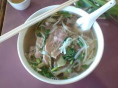 I have been eating Pho noodle soup all week...this is life!