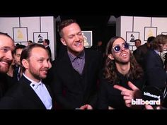 Imagine Dragons on the GRAMMYs Red Carpet 2014 - YouTube