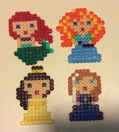 Red haired princesses