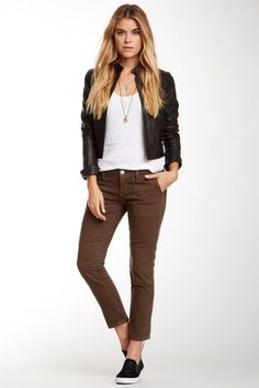 Tough + chic Joyce Skinny Jean by True Religion on @HauteLook