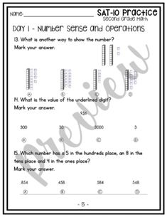 Pin on First Grade Number Sense