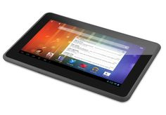 Ematic Genesis Prime Android tablet from Ematic. The tablet is equipped with a 1.1GHz Intel Core Duo processor, supported by 512MB of RAM with 4GB on-board storage, and 5GB cloud storage provided with each tablet.