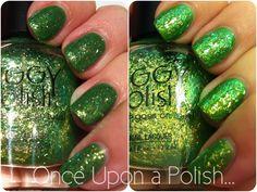 Once Upon a Polish...: Piggy Polish Garden Galaxy