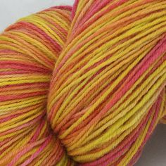 Chirpy Chirpy Cheep Cheep! ~ The Knitters Attic Hand Dyed 4ply Yarn by TheKnittersAttic on Etsy
