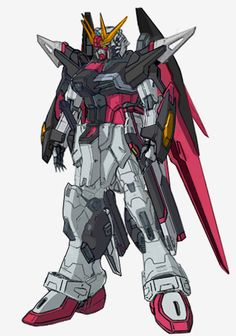 New Destiny Gundam Shinn Asuka Colors by ~RedZaku on deviantART