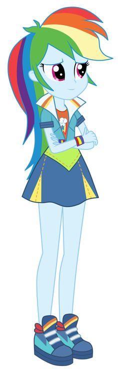 Rainbow Dash - Friendship Games by MixiePie on DeviantArt Rainbow Dash, Rainbow Rocks, Friendship Games, My Little Pony Friendship, Equestrian Girls, Mlp Pony, Pony Pony, My Little Pony Pictures, Butterfly Crafts