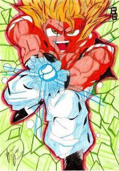 (DBZ) Goku Super Sayajin / Kamehameha  04.03.07