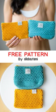 Crochet project for crochet lovers that would like to learn to - Crochet Star Stitch Pouch - Free Pattern Crotchet Bags, Crochet Pouch, Crochet Collar, Crochet Purses, Free Crochet, Knit Crochet, Crochet Star Stitch, Crochet Stars, Crochet Stitches