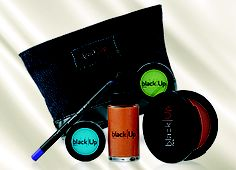 BLACK UP - Receive a FREE Cosmetics Pouch with the purchase of any three items, one of which must be a Complexion product to the value of or more. August 2013, Cosmetic Pouch, Free Gifts, Theatre, Cosmetics, Beauty, Black, Black People, Promotional Giveaways