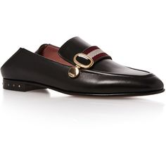 Bally Livilla Soft Loafer ($650) ❤ liked on Polyvore featuring shoes, loafers, black, black shoes, bally shoes, bally footwear, kohl shoes and loafer shoes