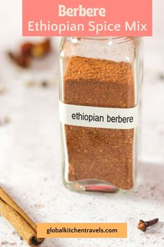 Berbere is ubiquitous in most Ethiopian dishes. A flavorful item to keep in the pantry to flavor everything from grilled vegetables and chicken to french fries and popcorn. #africanrecipes #worldcuisine #glutenfree #vegetarian #spiceblend #spicemix Spice Blends, Spice Mixes, Berbere Spice, African Recipes, Grilled Vegetables, French Fries, Diy Food, Popcorn, Glutenfree