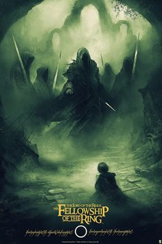'The Lord Of The Rings: The Fellowship Of The Ring' (Regular Edition) by Karl Fitzgerald