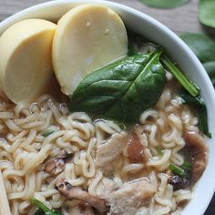 homemade ramen noodle soup easy an easy way to create a hearty and delicious dinner. Add a delicious and unique protein with an golden egg.
