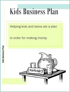 Starting a business for kids pinterest worksheets business and how to create a kids business plan and what to do before you start your money making ideas wajeb Images