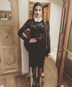 Sonam Kapoor dresses up for #Halloween. #Bollywood #Fashion #Style #Beauty #Hot #Instagram