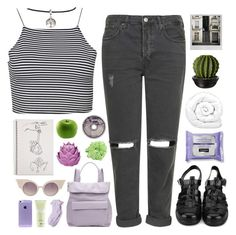 """""""the haze has ascended"""" by softenedpressures ❤ liked on Polyvore featuring Polaroid, Boohoo, Topshop, Brinkhaus, Zara Home, Whistles, Carven, Jeremy Scott, ASOS and Mead"""