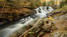 Papinea Creek Waterfall