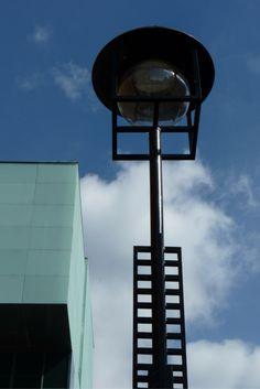 Lamp Post at Glasgow School of Art