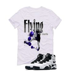 Nike Air Max 2 Uptempo 94 'White & Black' White T (FLYING HIGH) Nike Air Max 2, White T, Matching Shirts, Street Wear, Mens Tops, T Shirt, Clothes, Fashion, Supreme T Shirt