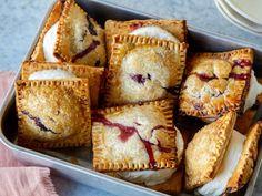 Patriotic Hand Pie Ice Cream Sandwiches Recipe | Food Network Kitchen | Food Network