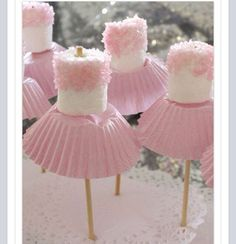 Princess Marshmallow pops