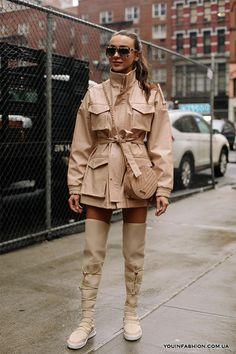 Уличная мода Нью-Йорка 2019