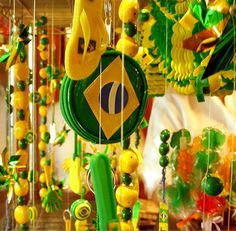 brazil party decorations - Google Search